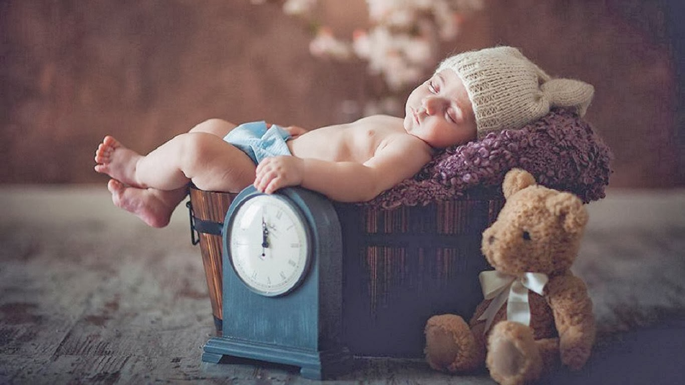 Cute%20Baby%20Boy%20Sleeping%20with%20Teddy%20Bear%20Happy%20Teddy%20Day%20wallpapers%20free%20download - BABY SLEEPING GUIDE FIRST WEEK
